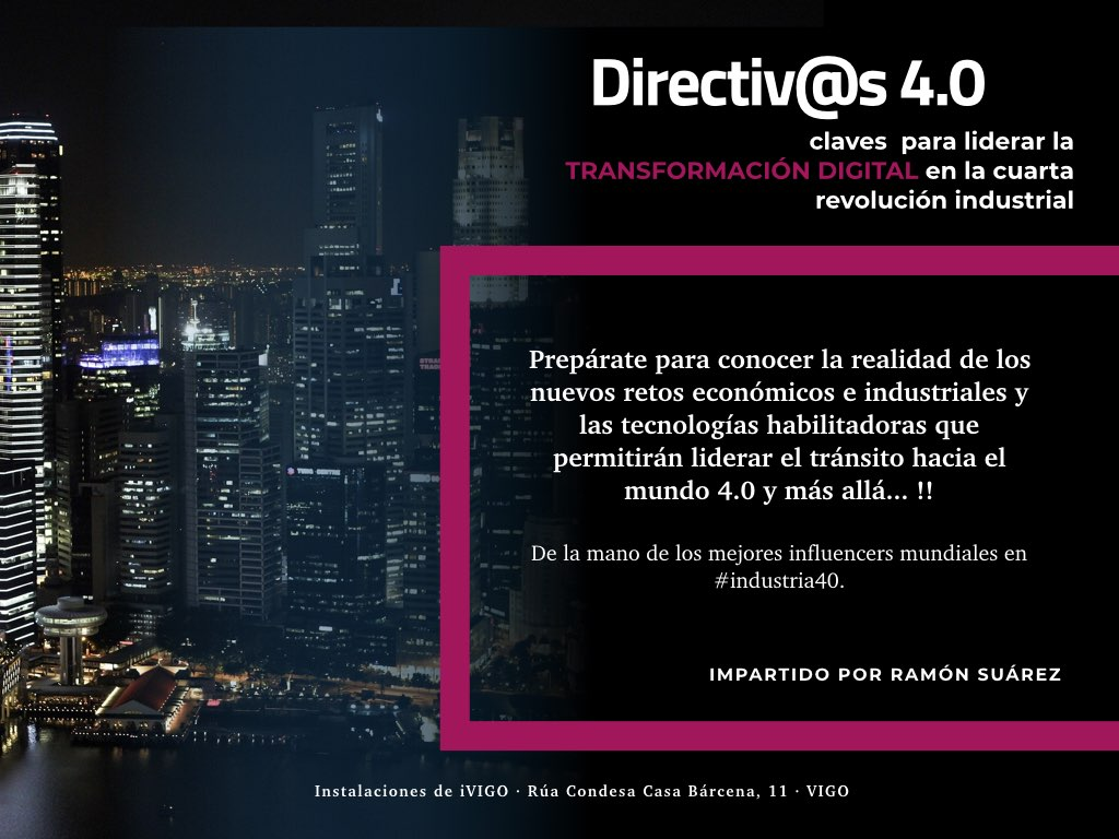 transformación digital directivos 4.0 ivigo business space