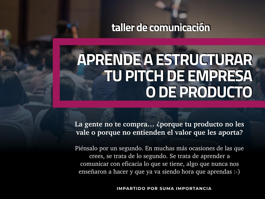 pitch de empresa o producto ivigo business space